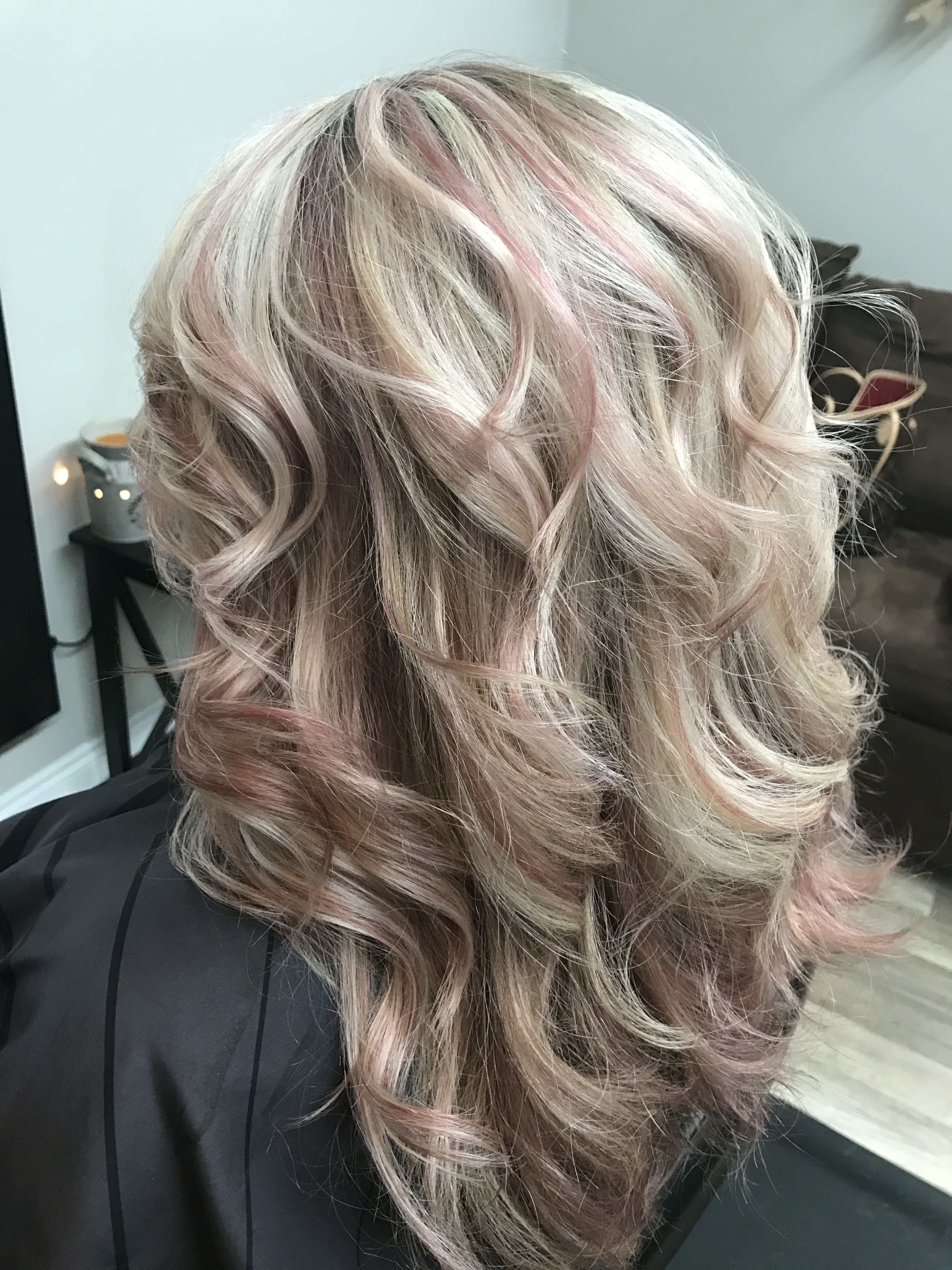 Well Known Soft Waves Blonde Hairstyles With Platinum Tips In Rose Gold And A Blond Platinum Highlights (View 4 of 20)