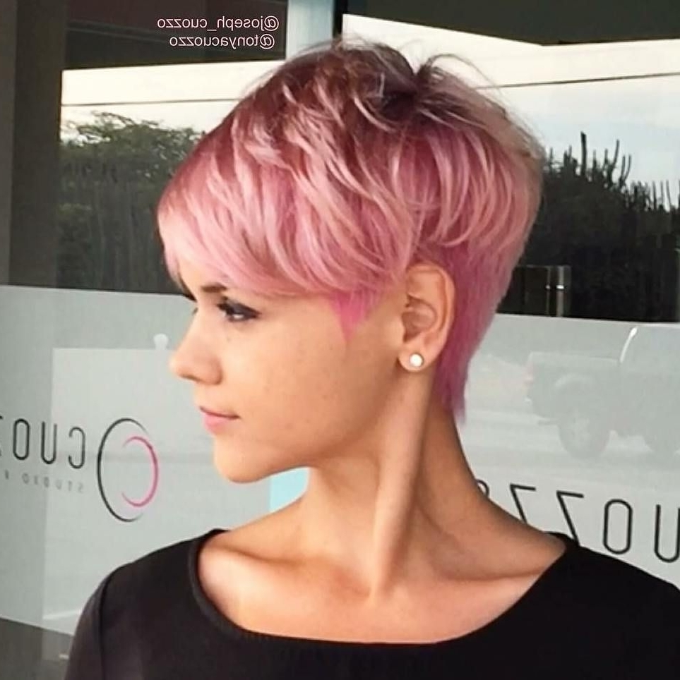 Well Known Tousled Pixie Hairstyles With Undercut For 10 Trendy Daring Pixie Haircuts, Hairstyle And Color For  (View 17 of 20)