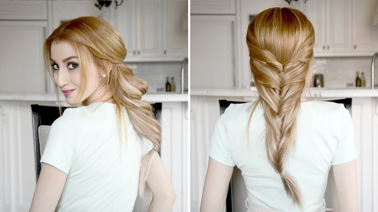 Well Known Twisted Pony Hairstyles Within French Twisted Ponytail Hairstyle (View 17 of 20)