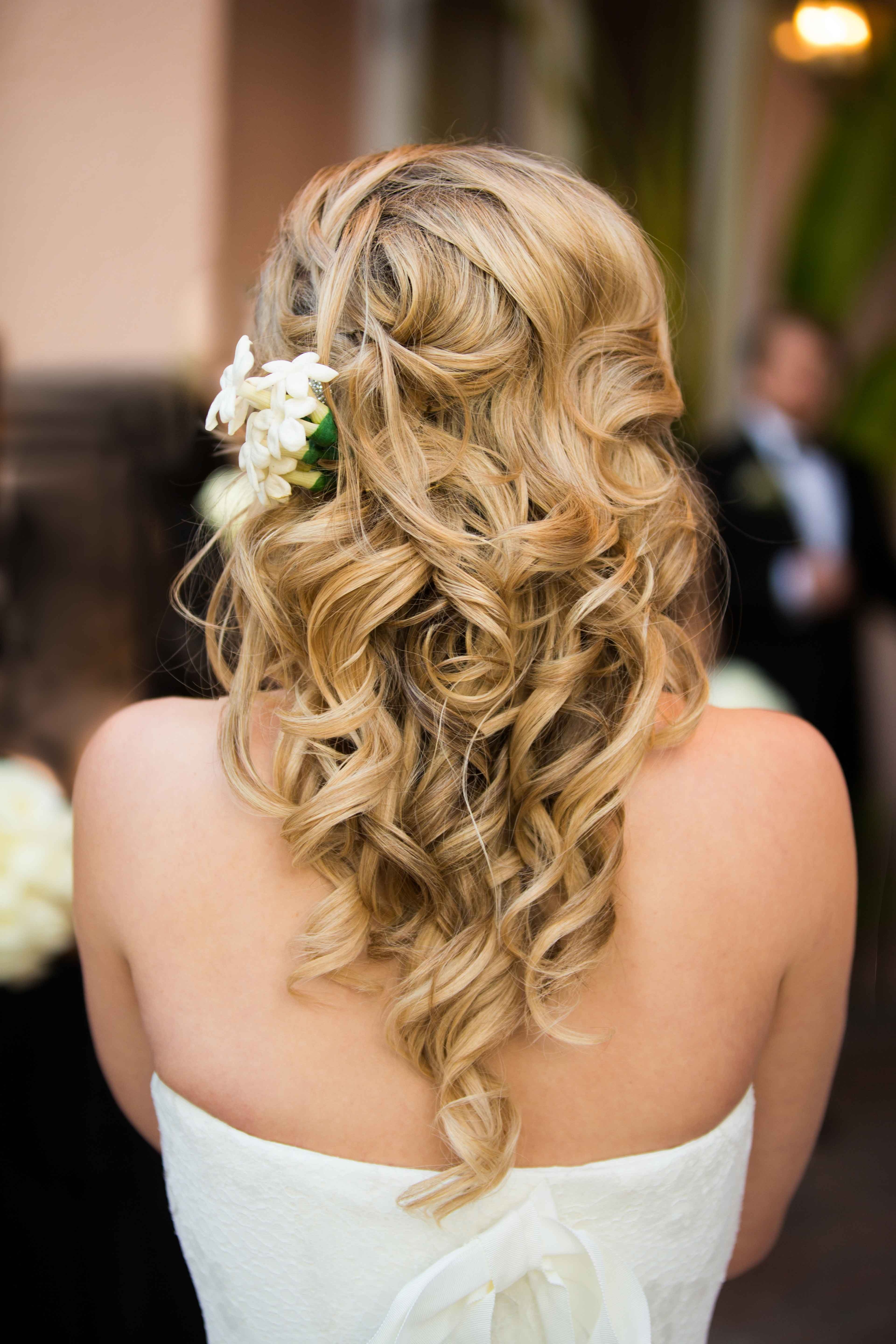 Well Known White Wedding Blonde Hairstyles Regarding 5 Easy Hairstyles For The Ladies Of The Wedding Party – Inside Weddings (View 13 of 20)