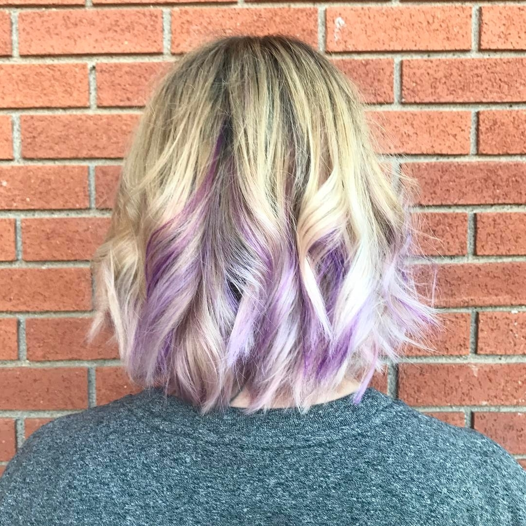 Well Liked Blonde Bob Hairstyles With Lavender Tint Inside 20 Trendy Hair Color Ideas For Women – 2017: Platinum Blonde Hair Ideas (View 18 of 20)
