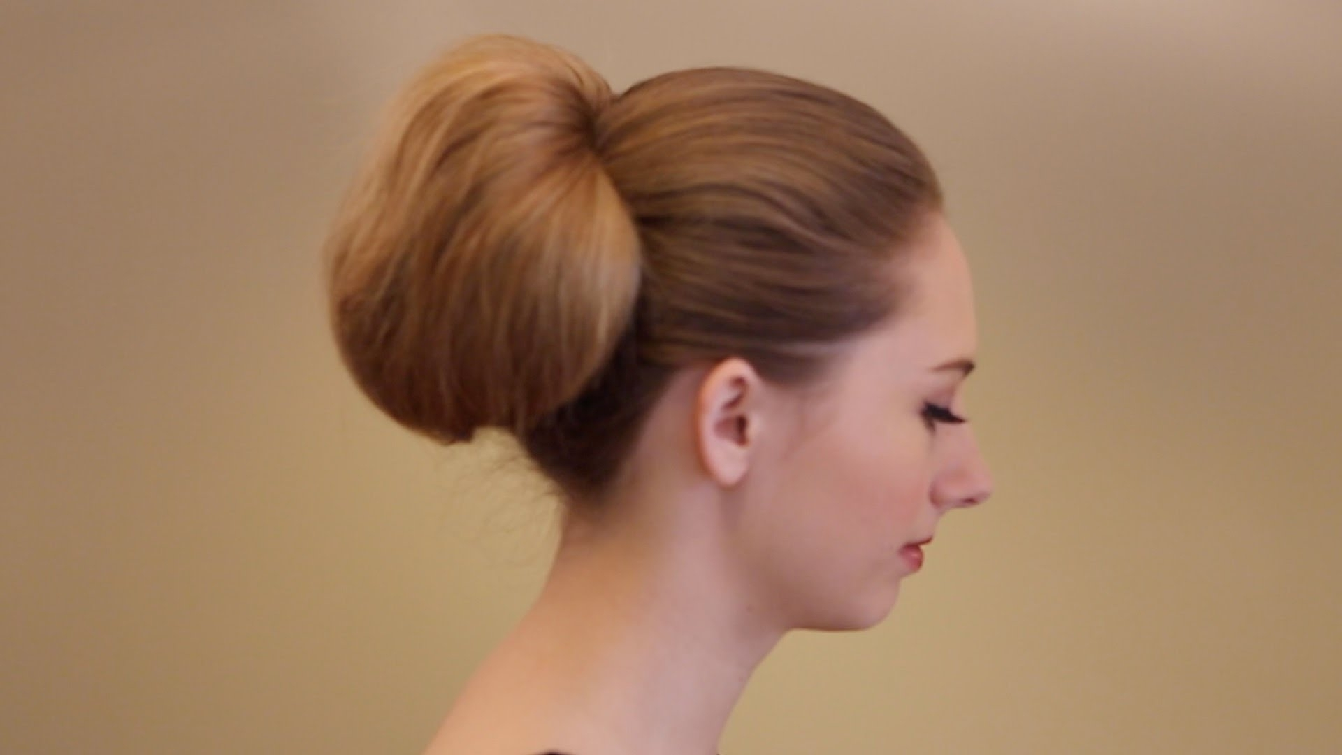 Well Liked Bouffant Ponytail Hairstyles With Tutorial: How To Create A Vintage Inspired Bouffant Ponytail – Youtube (View 20 of 20)