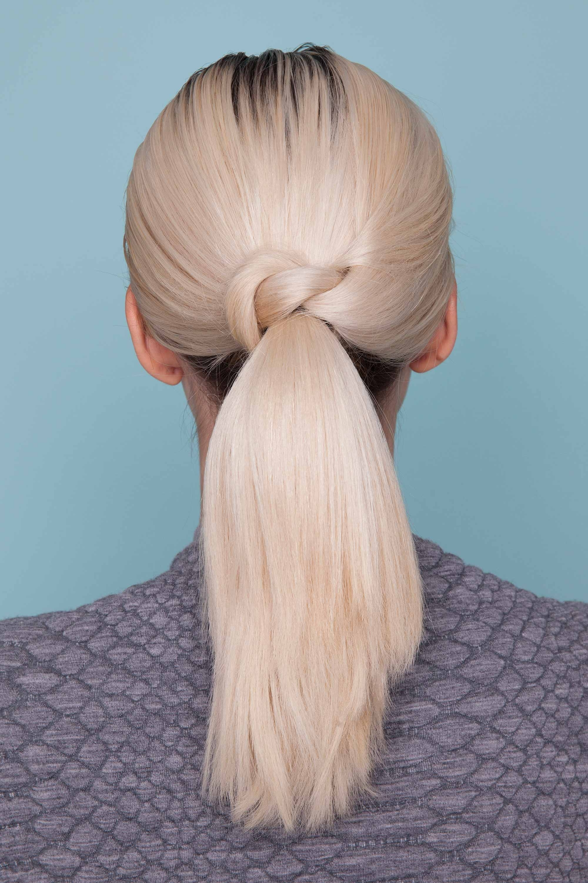 Well Liked Bubbly Blonde Pony Hairstyles Within Thick Hair Ponytail Hairstyle Ideas And Inspiration For Valentine's Day (View 18 of 20)
