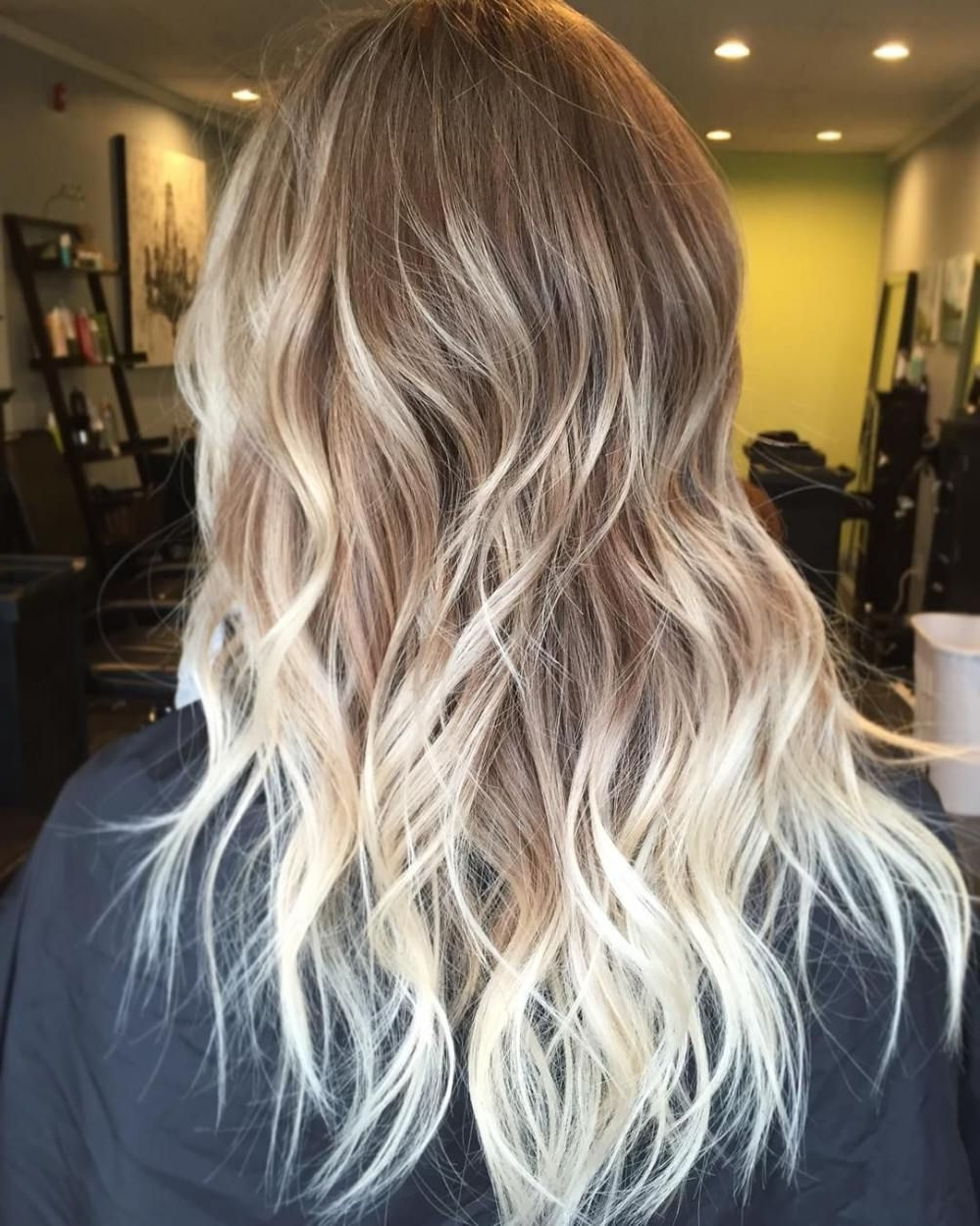 Well Liked Chamomile Blonde Lob Hairstyles Pertaining To 70 Flattering Balayage Hair Color Ideas For (View 12 of 20)
