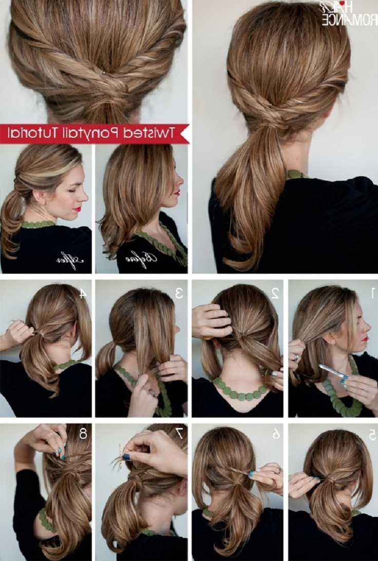 Well Liked Chic High Ponytail Hairstyles With A Twist For Top 10 Fashionable Ponytail Tutorials – Top Inspired (View 20 of 20)