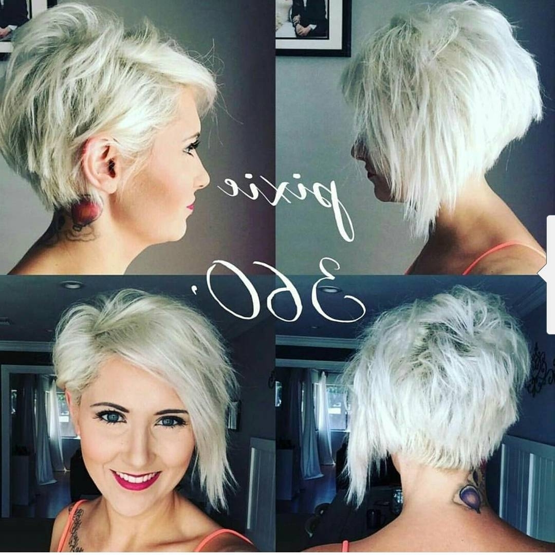Well Liked Choppy Gray Pixie Hairstyles With Regard To 10 Choppy Haircuts For Short Hair In Crazy Colors – Women Hairstyle (View 20 of 20)
