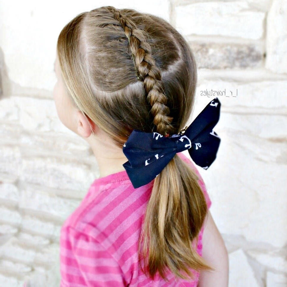 Well Liked Dutch Inspired Pony Hairstyles Inside Inspired@easytoddlerhairstyles (View 20 of 20)