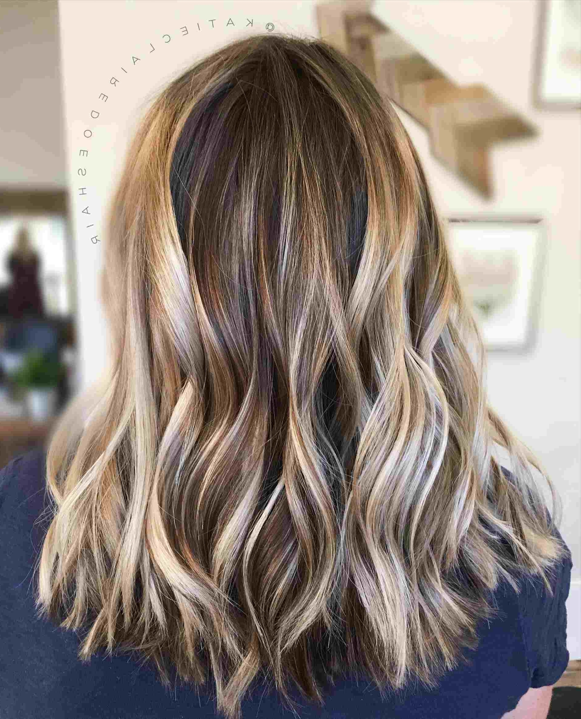 Well Liked Icy Highlights And Loose Curls Blonde Hairstyles Intended For Cool Dark Hair Balayage Ashy Icy Blonde Highlights Shadow Root Waves (View 8 of 20)