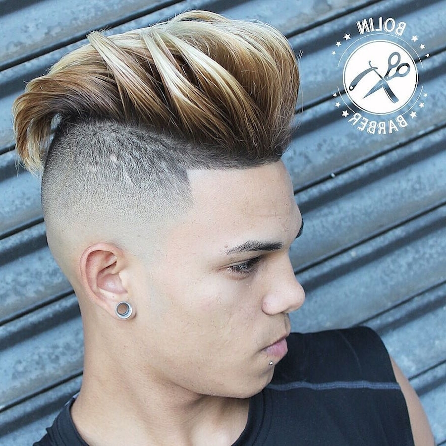 Well Liked Long Top Undercut Blonde Hairstyles Throughout 25 Cool Haircuts For Men (View 19 of 20)