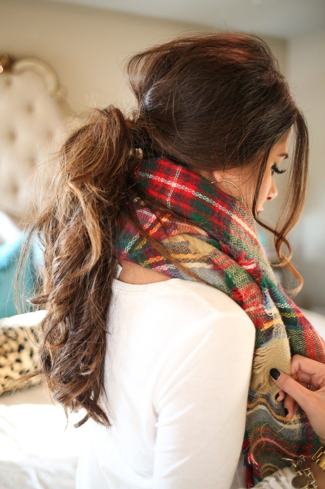 Well Liked Low Messy Ponytail Hairstyles In Top Off Your Look With These 5 Fall Hairstyles (View 11 of 20)