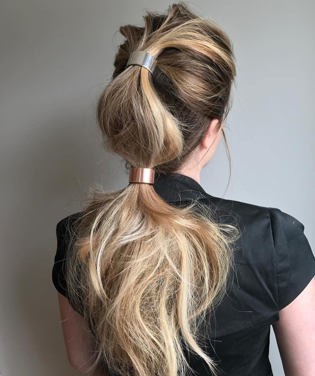 Well Liked Messy And Teased Gray Pony Hairstyles Throughout 10 Trendiest Ponytail Hairstyles For Long Hair 2018 – Easy Ponytails (View 10 of 20)