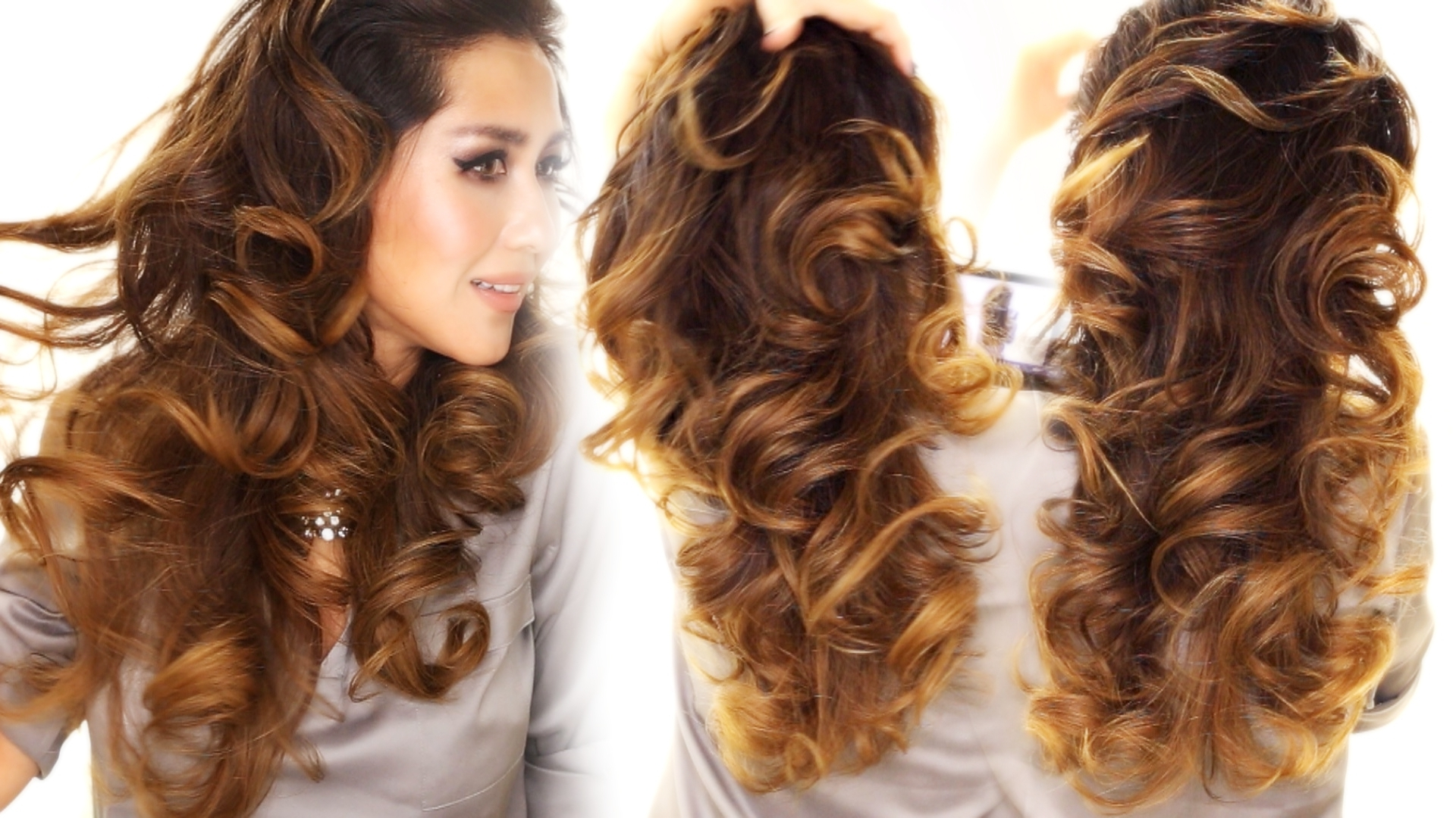 Well Liked Night Time Curls Hairstyles With Regard To 2 Ways To Lazy Heatless Curls Using A Bun (View 20 of 20)