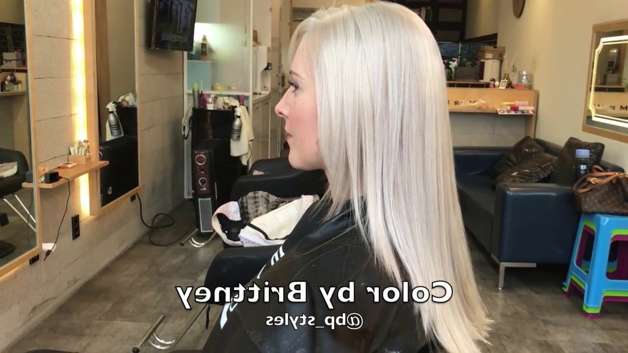 Well Liked Pearl Blonde Highlights For How To Go From Brassy Blonde To Pearl Blonde. Brittney Perez (View 14 of 20)
