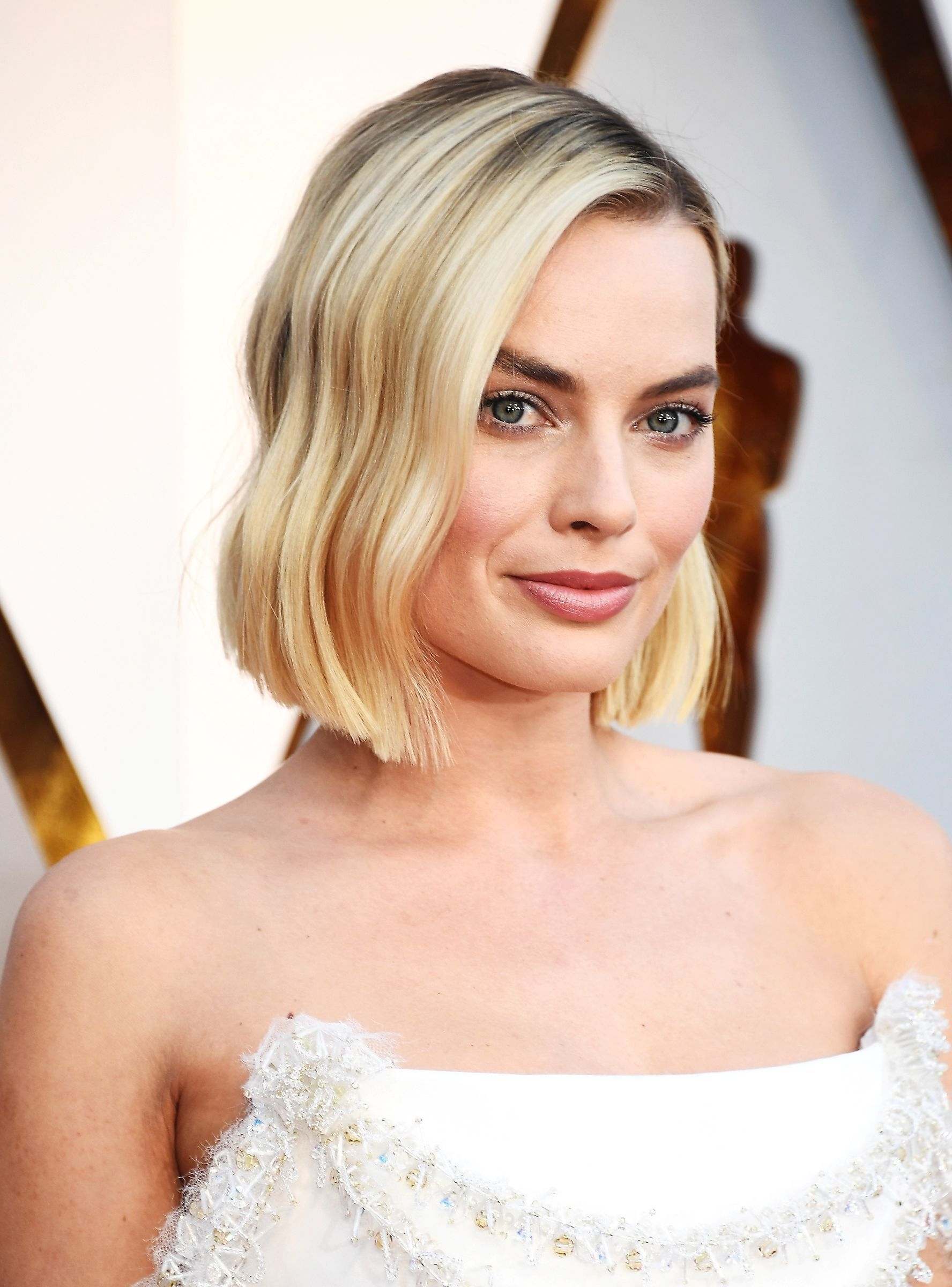 Well Liked Red Carpet Worthy Hairstyles Within Margot Robbie Just Debuted L.a (View 20 of 20)