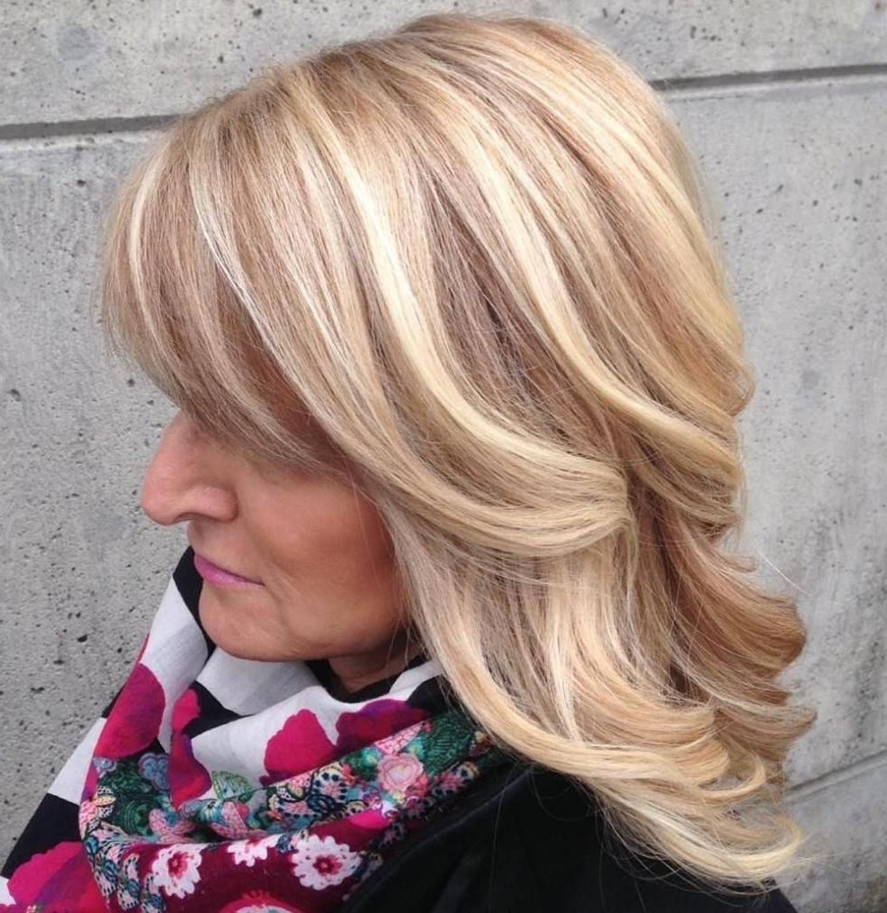 Well Liked Rosewood Blonde Waves Hairstyles In 80 Best Modern Haircuts And Hairstyles For Women Over  (View 20 of 20)