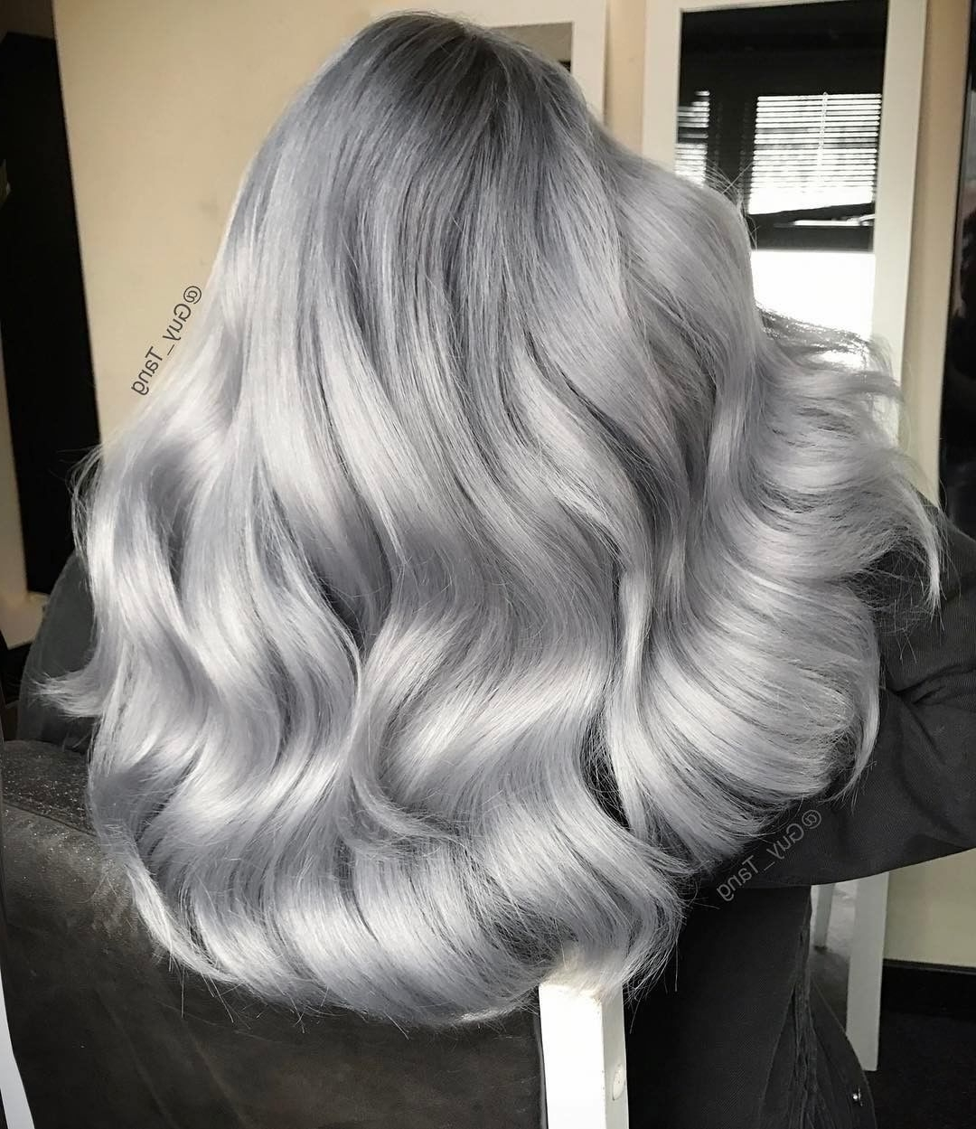 Well Liked Silver Bettie Blonde Hairstyles Pertaining To Pinjane Gantz On Silver Grey Gorgeous Hair (View 19 of 20)