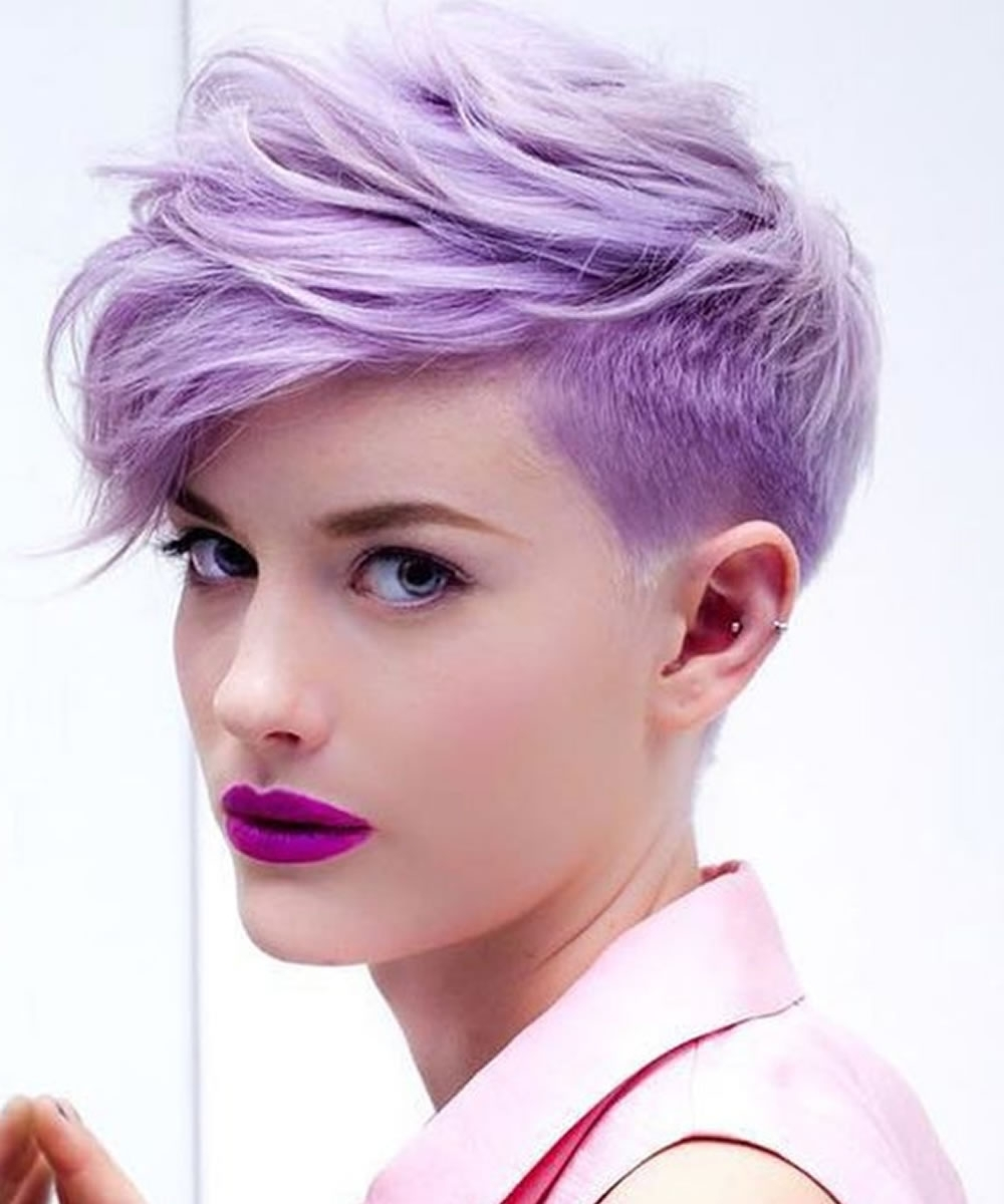 Well Liked Undercut Pixie Hairstyles Intended For Undercut Short Pixie Hairstyles – Undercut Hairstyles  (View 19 of 20)