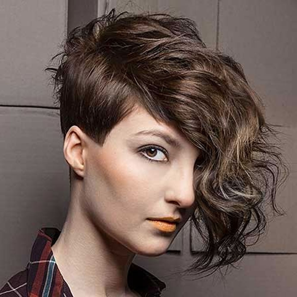 Well Liked Undercut Pixie Hairstyles Pertaining To The Newest 2018 Undercut Hair Design For Girls – Pixie+Short Haircut (View 20 of 20)
