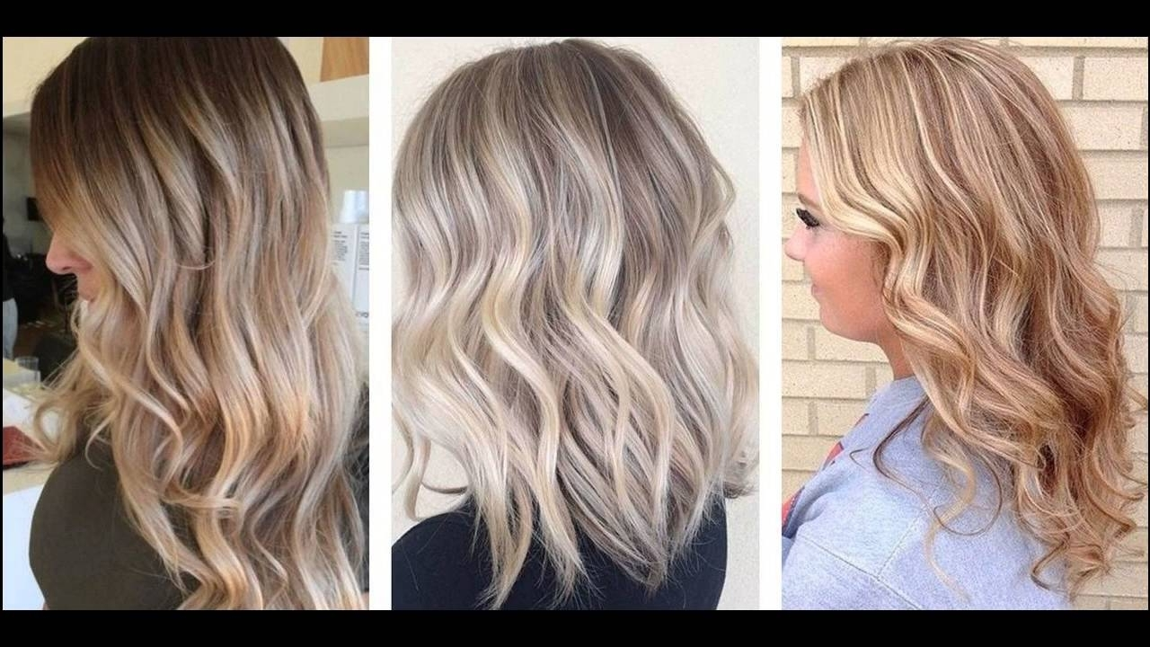 What Is The Best Ash Blonde Hair Dye Kit – Youtube Within Most Recent Cool Dirty Blonde Balayage Hairstyles (View 10 of 20)
