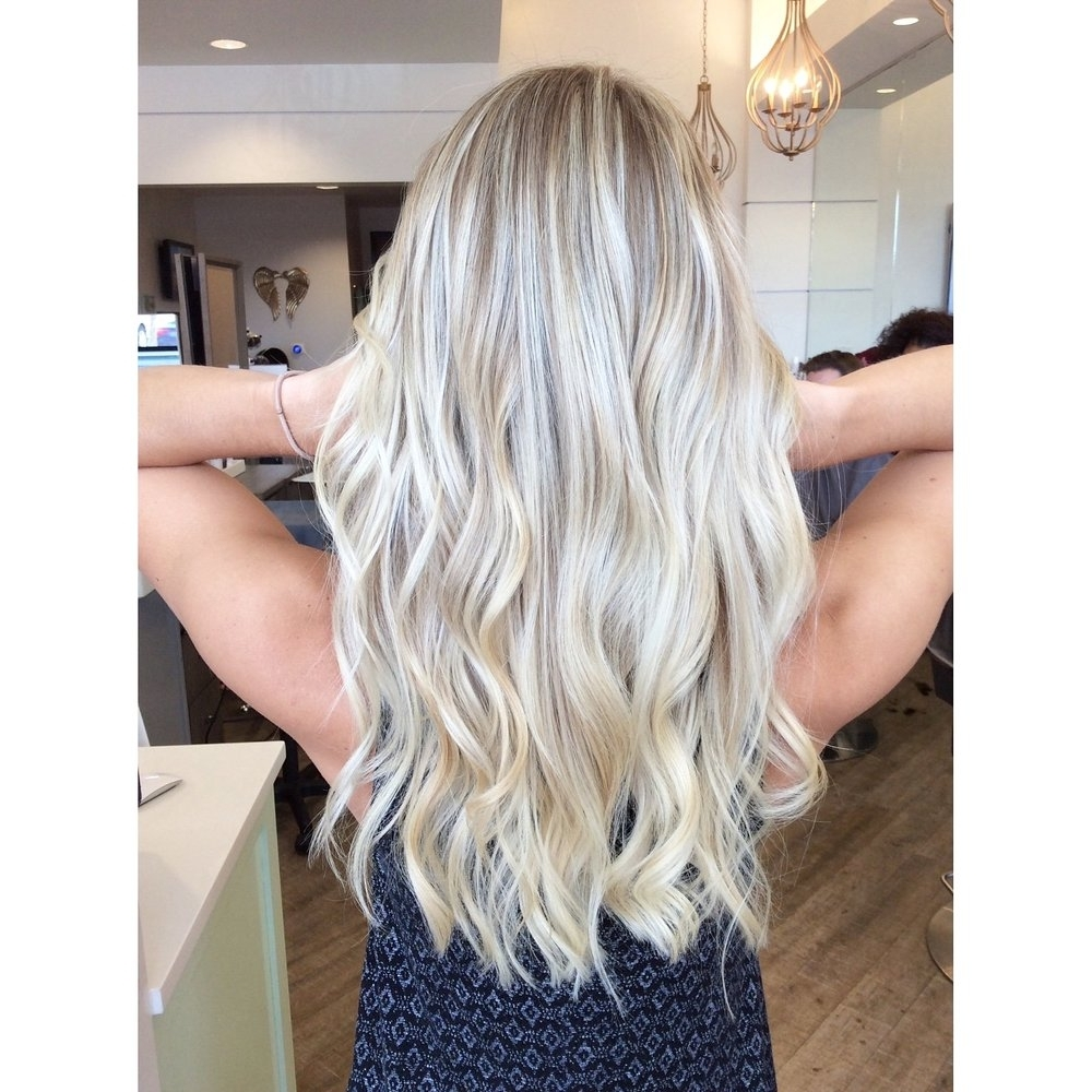 What To Ask Your Stylist For To Get The Color You Want: Blonde In Famous Pearl Blonde Highlights (View 4 of 20)