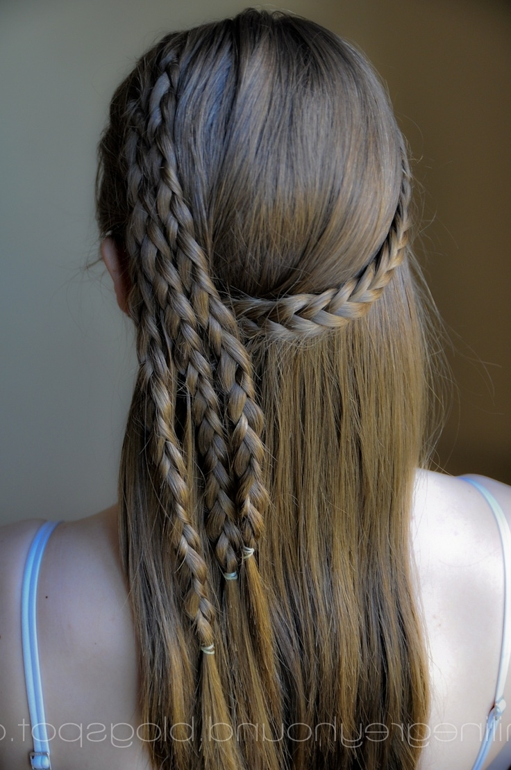 Widely Used A Layered Array Of Braids Hairstyles Regarding Rylea Pigeon (Ryleapigeon) On Pinterest (View 20 of 20)