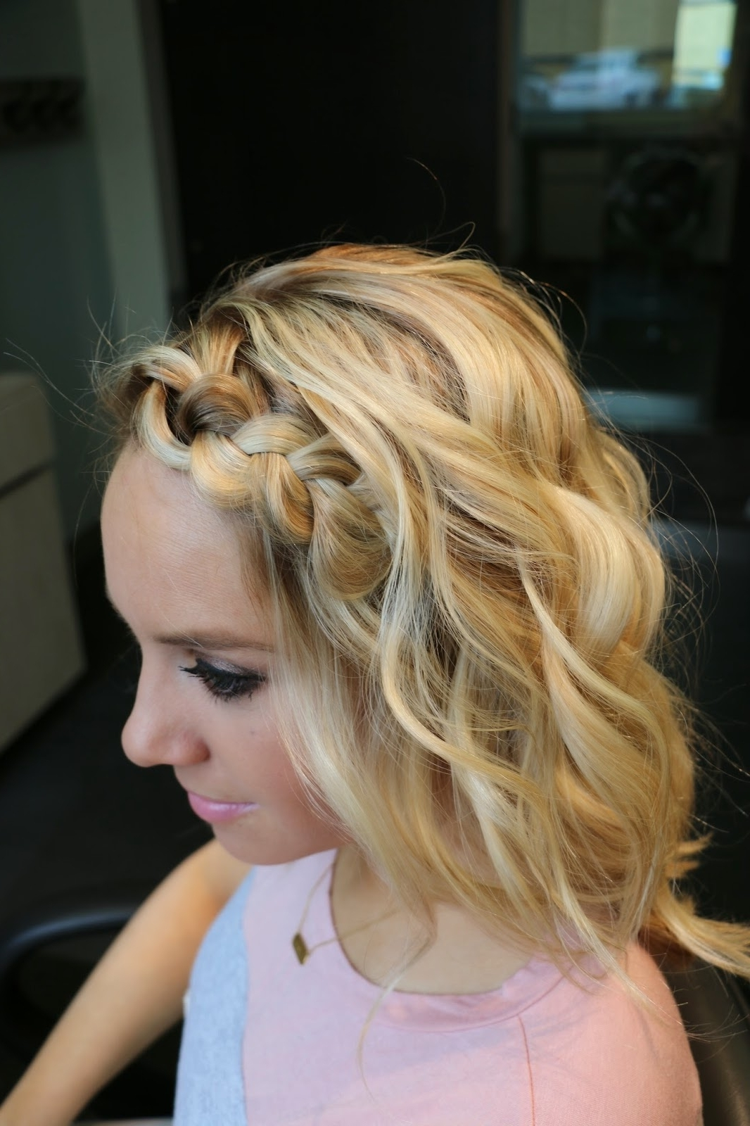 Widely Used Beachy Braids Hairstyles Throughout Stylin In St. Louis: Beachy Waves And Braids Tutorial + A Giveaway… (View 20 of 20)