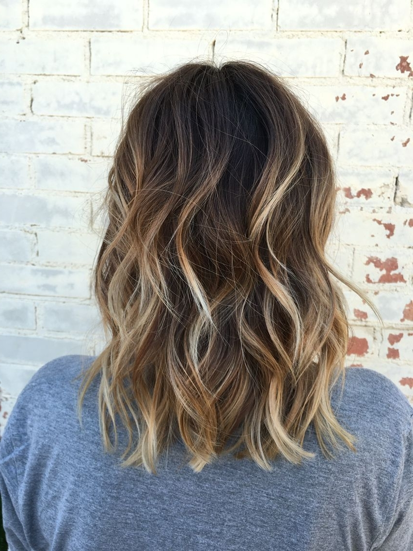 Widely Used Brunette Hairstyles With Dirty Blonde Ends Within 46 Look For Balayage Short Hairstyle (View 20 of 20)