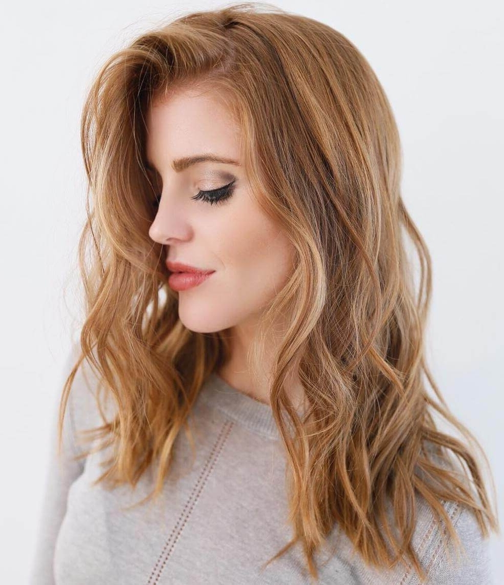 Widely Used Dirty Blonde Hairstyles With Subtle Highlights Regarding 50 Of The Most Trendy Strawberry Blonde Hair Colors For  (View 20 of 20)