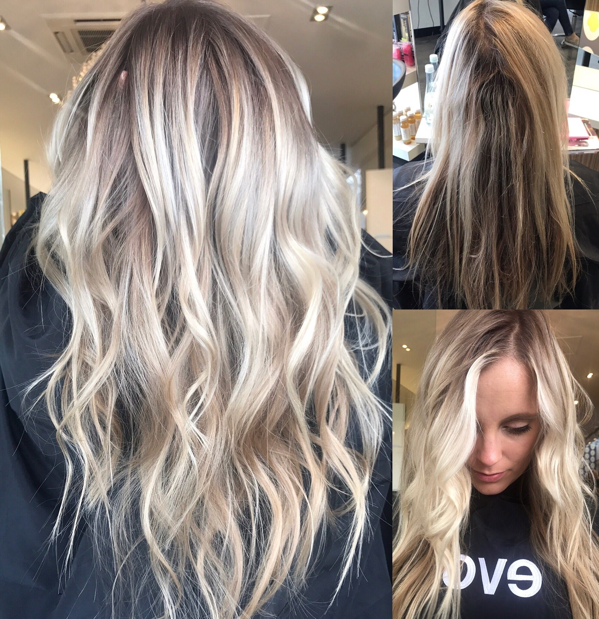 Widely Used Dishwater Blonde Hairstyles With Face Frame Pertaining To Blonde Balayage, Long Hair, Cool Girl Hair ✌ Lived In Hair Colour (View 10 of 20)