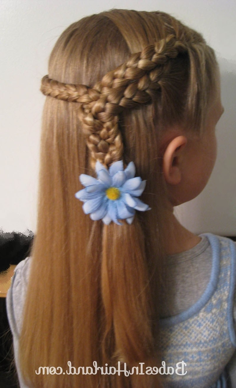 Widely Used Entwining Braided Ponytail Hairstyles Regarding 3 Braids Into 1 Braid – Babes In Hairland (View 20 of 20)