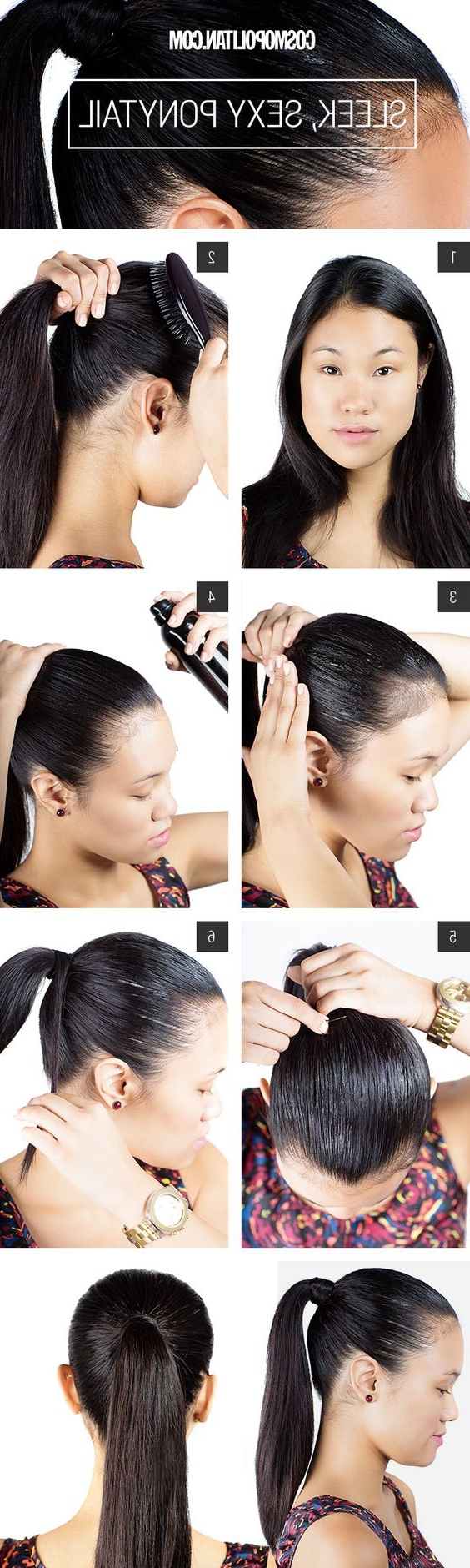 Widely Used Futuristic And Flirty Ponytail Hairstyles In 18 High Ponytail Hairstyles You Need To Try For Spring 2017 – Gurl (View 4 of 20)
