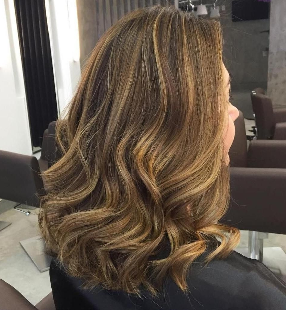 Widely Used Maple Bronde Hairstyles With Highlights Throughout 60 Looks With Caramel Highlights On Brown And Dark Brown Hair (View 19 of 20)
