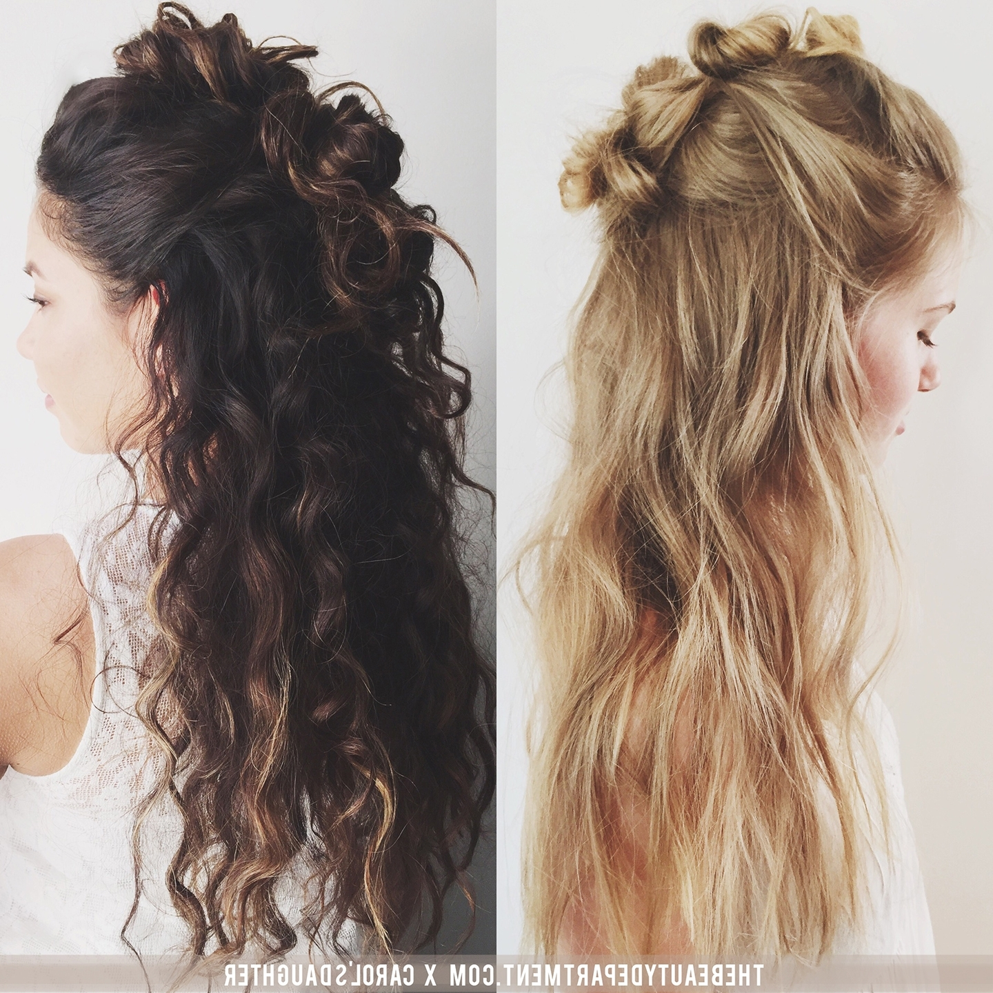 Widely Used Messy Half Ponytail Hairstyles For The Beauty Department: Your Daily Dose Of Pretty (View 19 of 20)