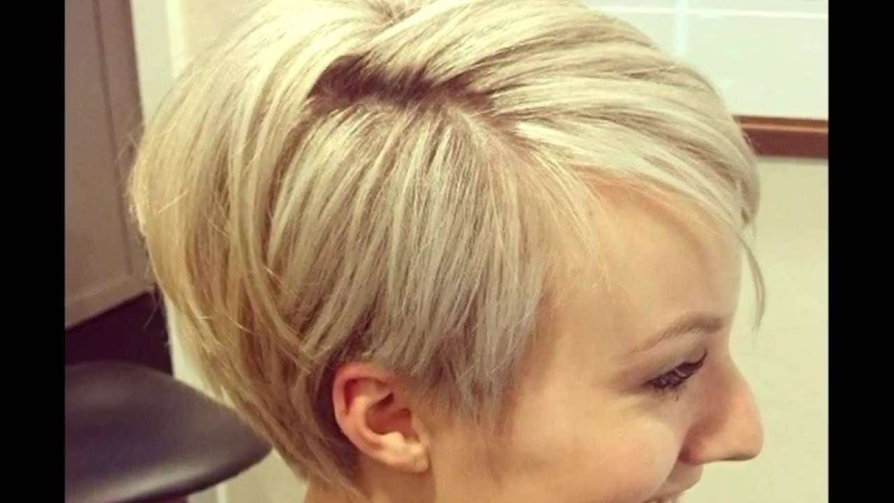 Widely Used Pixie Wedge Hairstyles Pertaining To 10 Wonderful Wedge Haircuts For Women – Youtube (View 20 of 20)