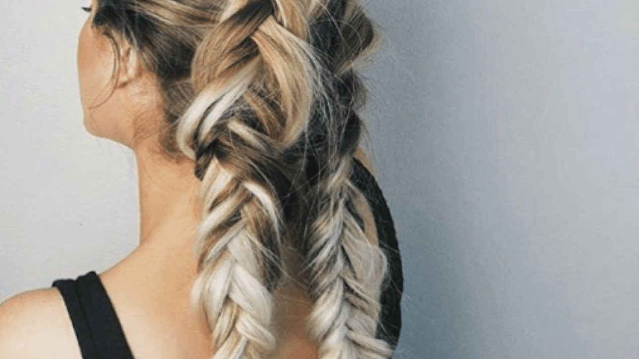 Widely Used Ponytail Hairstyles With A Braided Element For 7 Quick And Easy Hairstyles For Working Out – Beehive Hair Studio (View 20 of 20)