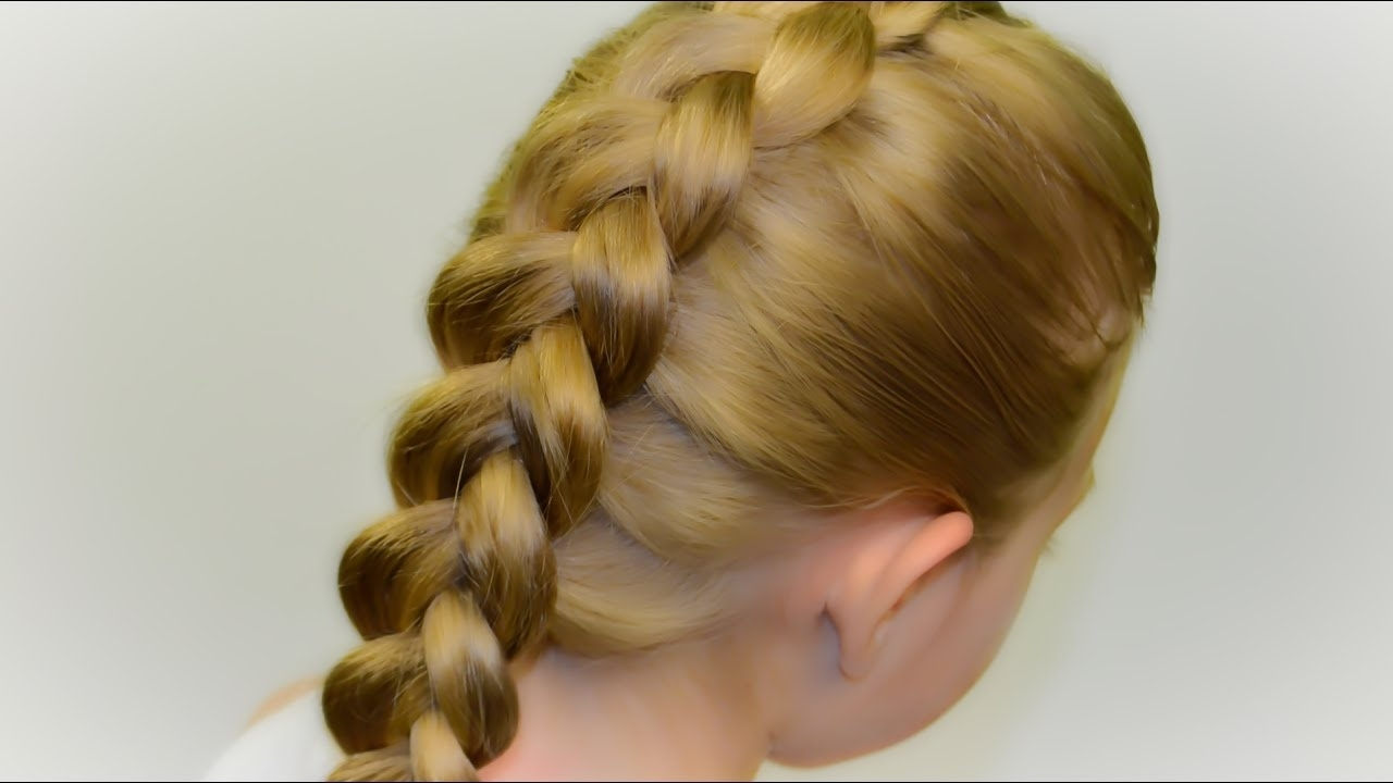 Widely Used Reverse French Braid Ponytail Hairstyles Regarding How To: Dutch Braid/inverted French Braid – Diy Tutorial! Quick (View 10 of 20)