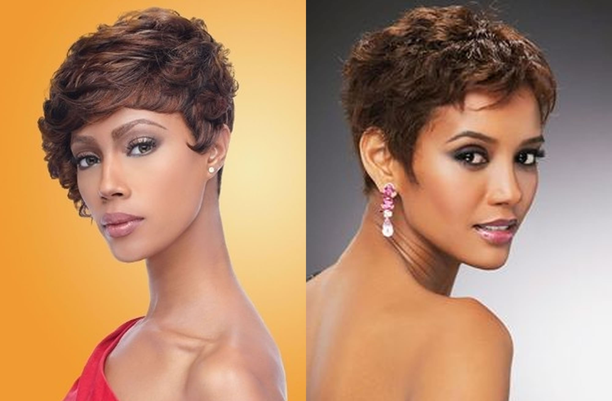 Widely Used Short Black Pixie Hairstyles For Curly Hair Pertaining To Pixie Hairstyles For Black Women – 60 Cool Short Haircuts For  (View 20 of 20)