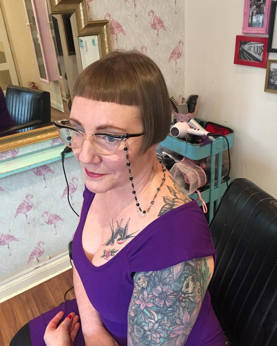 Widely Used Silver Bettie Blonde Hairstyles Pertaining To Cut And Finish For Bettielaura Today (View 20 of 20)