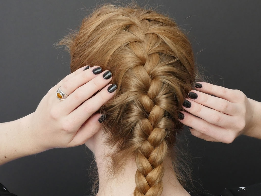 Widely Used Two Braids In One Hairstyles Intended For French Braid Basics: 4 Steps (With Pictures) (View 20 of 20)