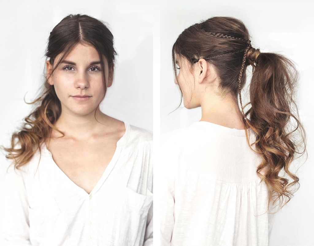 Widely Used Voluminous Pony Hairstyles For Wavy Hair With Tutorial: Voluminous Ponytail For Everyday › Thefashionfraction (View 6 of 20)