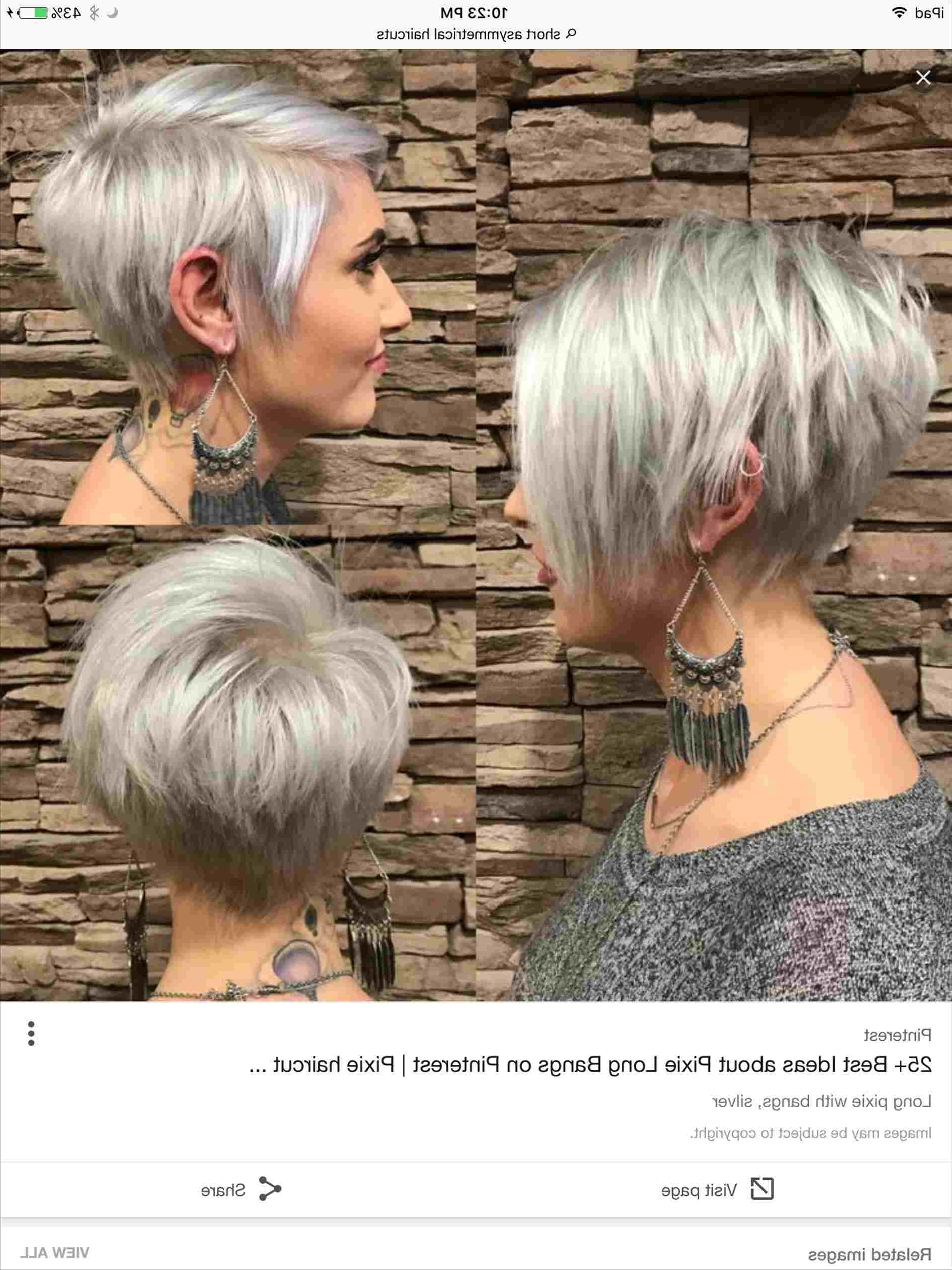With Blonde Highlights On Dark Hair Rhpinterestcom Tapered For Trendy Cropped Platinum Blonde Bob Hairstyles (View 12 of 20)