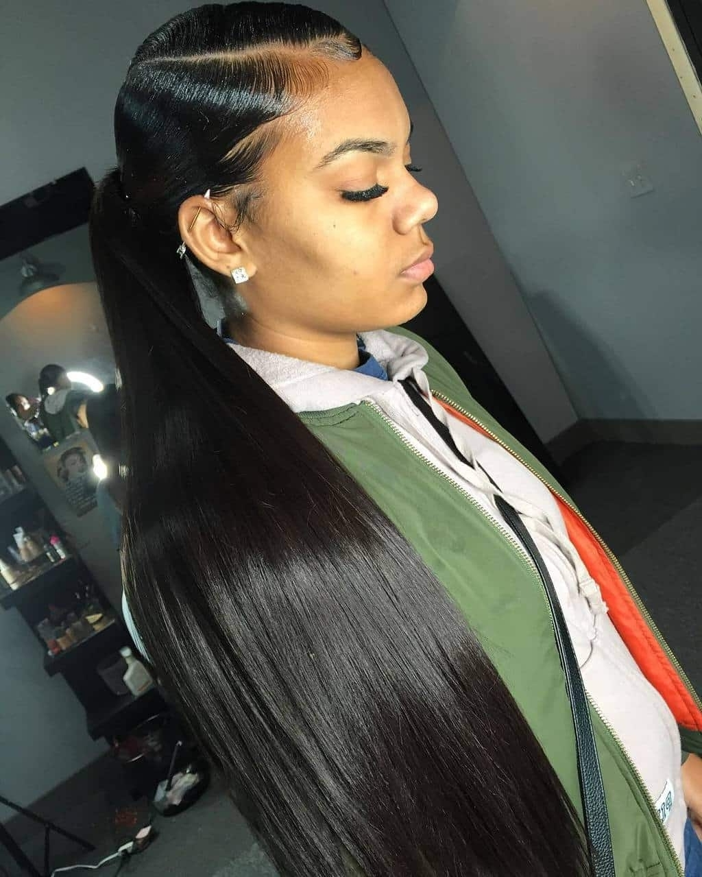 With It Weave Ponytails You Have To See To Believe With Most Popular Weave Ponytail Hairstyles (View 20 of 20)