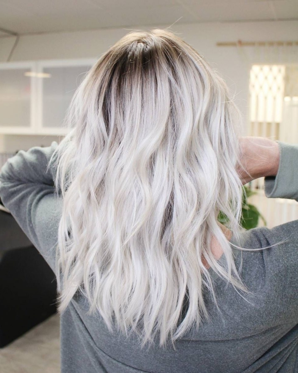 Women Hairstyle : Licious Blonde Hairstyles Short Hair Pinterest Pertaining To Current Long Platinum Locks Blonde Hairstyles (View 6 of 20)