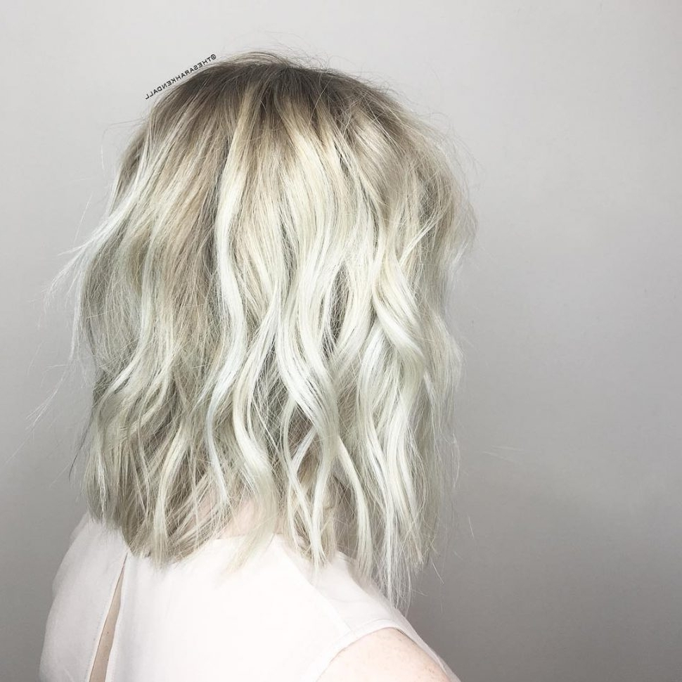 Women Hairstyle : Platinum Hairstyles Short Long Hair Medium Wig In Most Up To Date Platinum Blonde Long Locks Hairstyles (View 20 of 20)