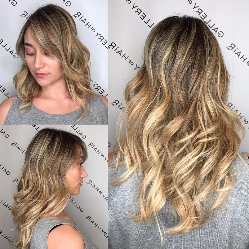 Featured Photo of Blonde Color Melt Hairstyles