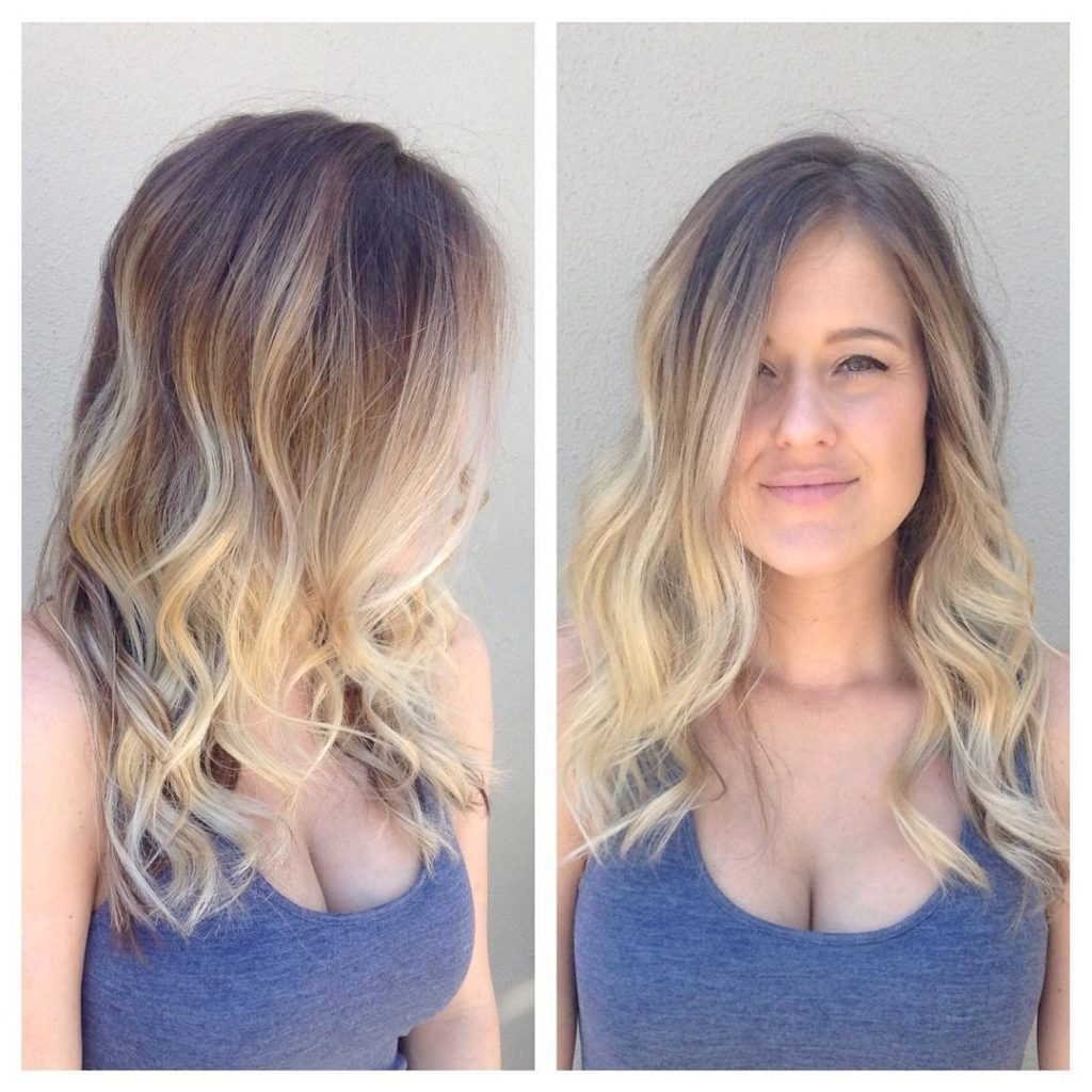 Featured Photo of Blonde Ombre Waves Hairstyles