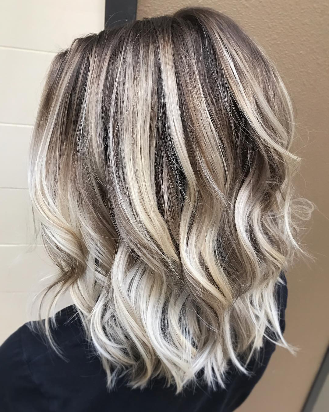 10 Ash Blonde Hairstyles For All Skin Tones, 2018 Best Hair Color Trends Inside Long Blonde Pixie Haircuts With Root Fade (View 16 of 20)
