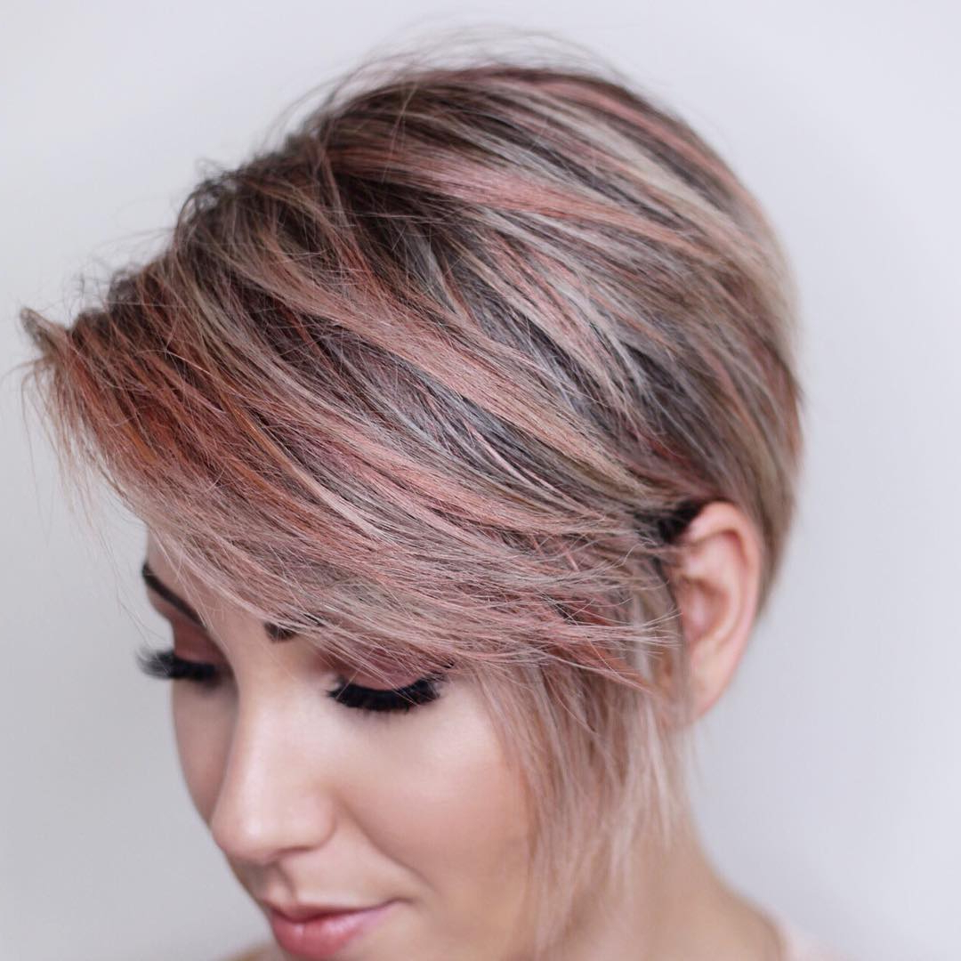 10 Best Bob Hairstyles For 2018 – Cute Short Bob Haircuts For Women In Choppy Rounded Ash Blonde Bob Haircuts (View 13 of 20)