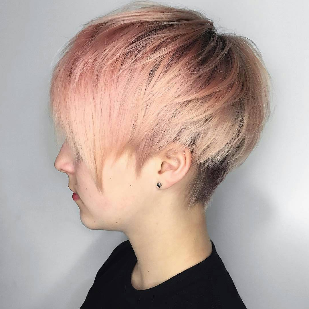 10 Best Pixie Haircuts 2019 – Short Hair Styles For Women Intended For Pastel Pink Textured Pixie Hairstyles (View 6 of 20)