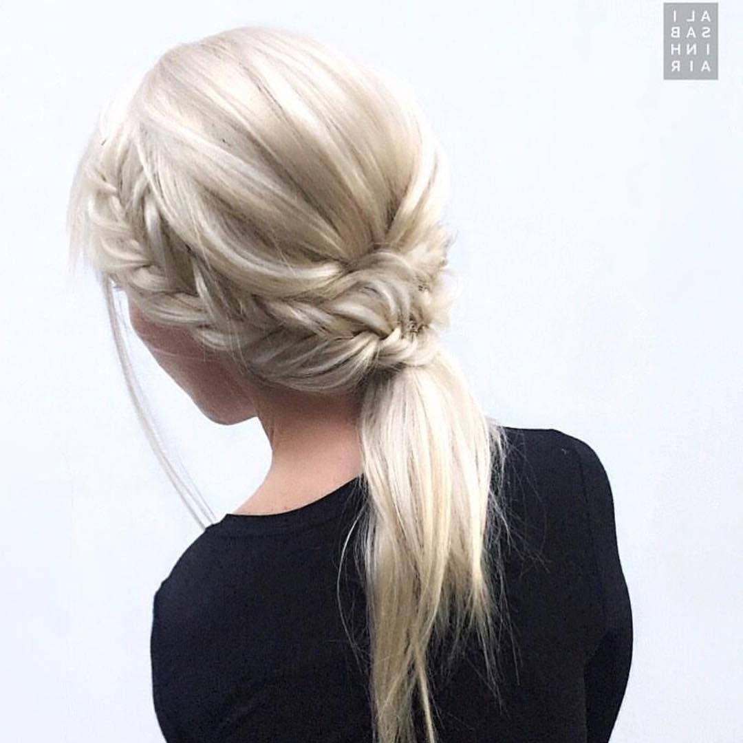 10 Braided Hairstyles For Long Hair – Weddings, Festivals & Holiday Throughout Popular Artistically Undone Braid Ponytail Hairstyles (View 16 of 20)